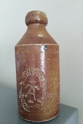A. Thornley Stone Ginger Beer Bottle