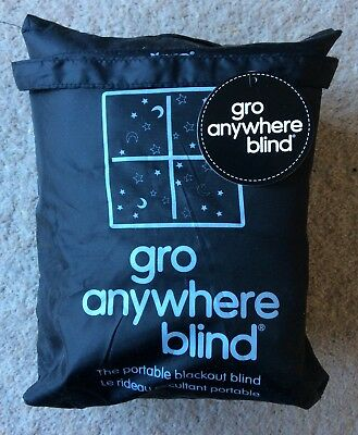 Gro Anywhere Blackout Blind - Star Design - Excellent Condition!