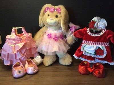 Build A Bear = GIRL Doll + Clothes + Extras VGC Brisbane
