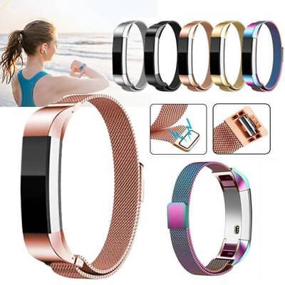Stainless Steel Replacement Magnetic Milanese Band Strap for Fitbit Alta Alta HR