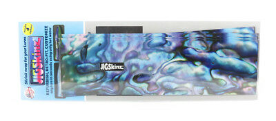 Jigskinz JZABB-XL4 Abalone Blue 230 x 130mm x 4 pieces X-Large (3213)