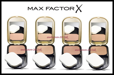 Max Factor Facefinity Compact Moisturizing Effect Oil and Fragrance Free 10g.