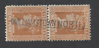 Victoria stamps postmarked WILLIAMSTOWN NORTH