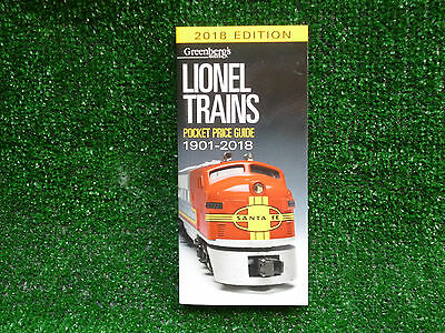 Greenberg's Guide To Lionel Trains 1901-2018 Pocket Price Guide