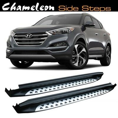 Running Boards / Side Steps for use on Hyundai Tucson 2016 to Present (3rd Gen)