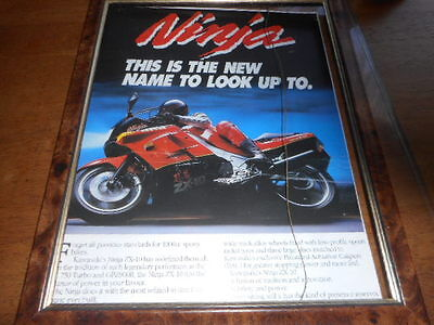 Kawasaki Ninja ZX-10  1000 cc picture / poster : Fame not included