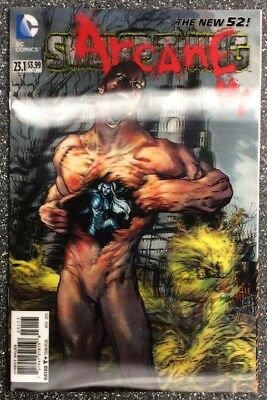 Swamp Thing #23.1 (2013) New 52 3D Lenticular Cover