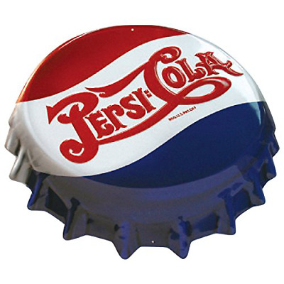 Pepsi Cap Tin Sign