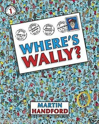 Where's Wally Book: Book 1: WHERE'S WALLY? - Large Edition - Full Size - NEW
