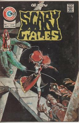 Scary Tales #1 (Charlton) August 1975 Fine+ conditon