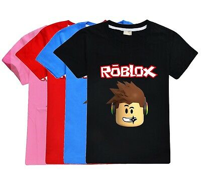 Roblox  Kid's T-Shirt Size 1-12 Black Blue and Red AU Shop