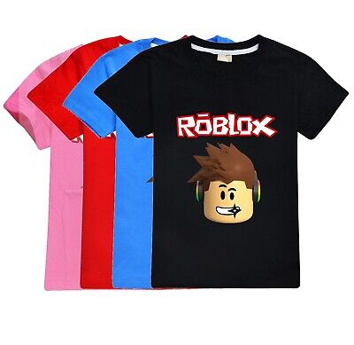 Roblox  Kid's T-Shirt Size 3-14 Black Blue and Red AU Shop