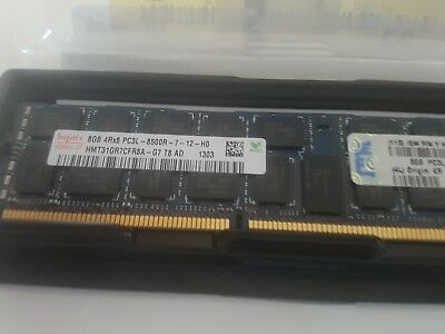 16HB - 2x 8GB Samsung HMT31GR7CFR8A-G7 ECC Registered DDR3 Server