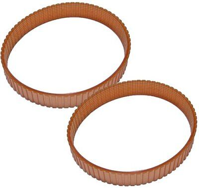 2 PC Dewalt DW734 DW734R Planer Belt Replacement Toothed Drive Belt