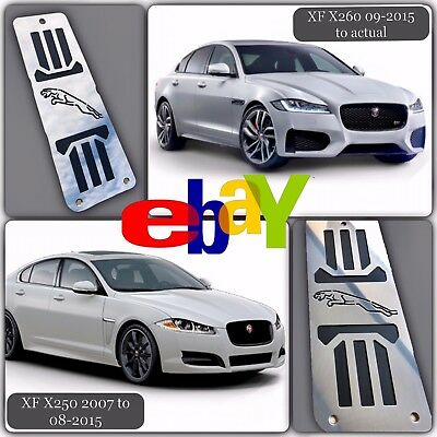 FOOTREST DEAD PEDAL JAGUAR XF, XE, XK and X-Type STAINLESS STEEL