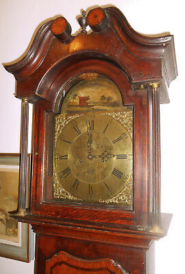 18th century Longcase Grandfather Clock - Memento Mori - for restoration