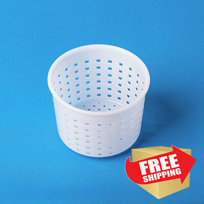 Set of 12 Cheese making Mold Camembert and Brie 0.25 kg   Basket for soft cheese