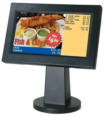 "Sam4s ML700 Graphic Customer Display  - Cash Register Pole Display - 7"" LCD"