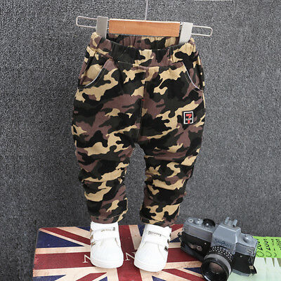 Infant Toddler Baby Boys Clothes Clothing Pants Kids Boy Cotton Long Trousers