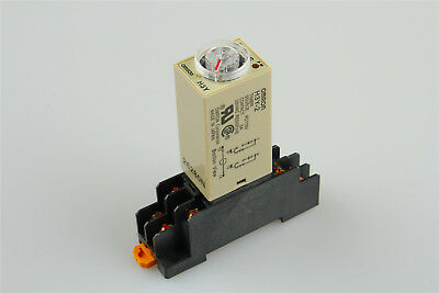 Delay Timer Time Relay with Base 10s AC 110V H3Y-2 0-10 Second US Shipping