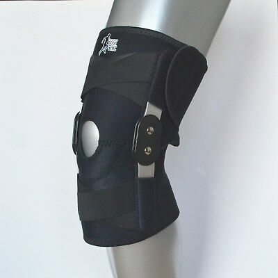 DELUXE QUALITY Twin Hinged knee Support Brace protection Arthritis injury sports