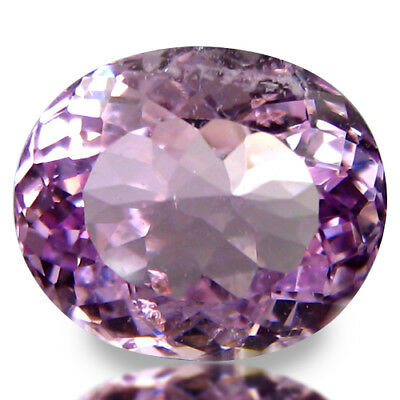7.40ct 12x10MM Beautiful Lustrous Soft Pink Kunzite Loose Gems