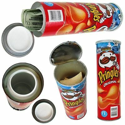 Pringles Secret Diversion Safe Stash Can Hidden Money Safe Container Real Chips
