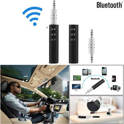 Freisprecheinrichtung Wireless Bluetooth Receiver AUX Musik Stereo Audio 3,5 mm