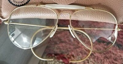 VINTAGE 70s MINT RAY-BAN OUTDOORSMAN CHANGEABLES PHOTOCHROMIC SUNGLASSES 58mm
