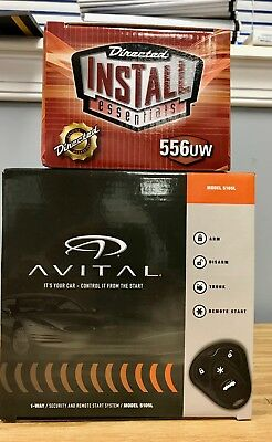 Avital 5105L Alarm & Remote Start Keyless &556UW Bypass Module Bundle Two items