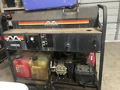used Mi-T-M 3506 hot water pressure washer
