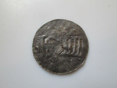 Germany 11 century silver coin, anonymous denar, Münster