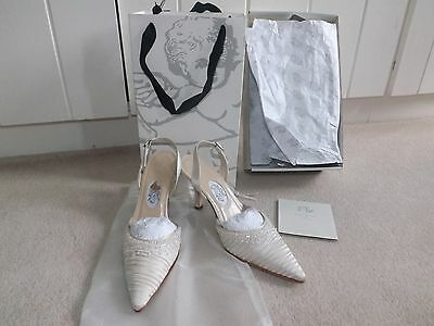 """Diane Hassall """"moonbeam"""" Wedding / Special Occasion shoes size 3.5/36.5"""