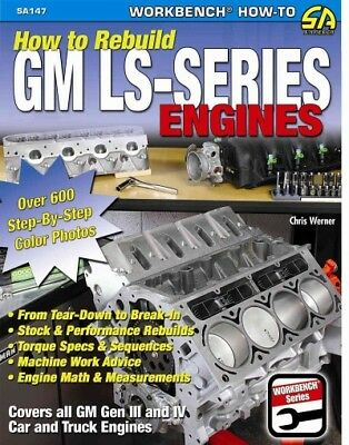 How to Rebuild the GM LS-Series Engines, Paperback by Werner, Chris