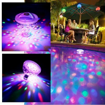UFO 5 Modes Colorful Water Light,Floating Lamp for Swimming Pool/ SPA/ Bath Tub/