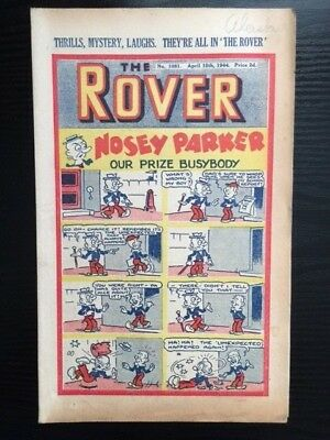 The Rover comic No. 1081 - April 15, 1944 - vintage and rare!
