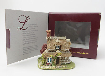Lilliput Lane Circular Cottage Classics 1993 Miniature Boxed with Sleeve