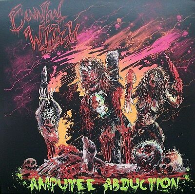 "CANNIBAL WITCH / DECAPITATED MUM spl 7"" impetigo,gruesome stuff relish,necrony"