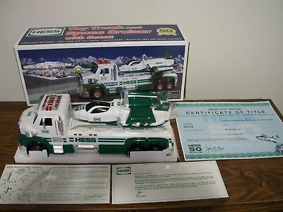 Hess 2014 Toy Truck and Space Cruiser With Scout 50th Anniversary NIB, SOLD OUT