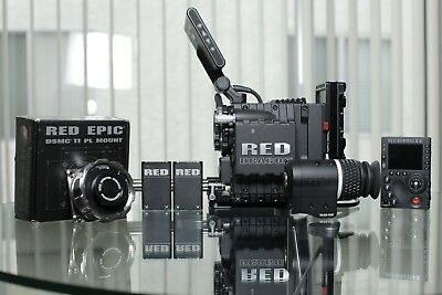 Red Epic-M Dragon 6k W/ Mini Mag Package (Excellent Condition)