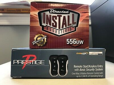 Prestige APS57Z 1-Way Remote Start Keyless Entry & 556UW Bypass Bundle Brand NEW