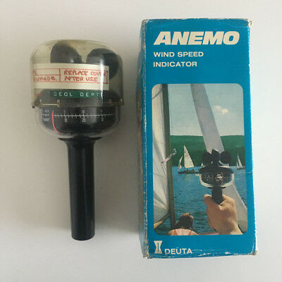 Anemo Wind Speed Indicator- Boxed