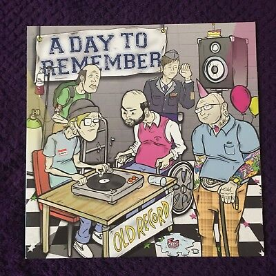 A Day to Remember - Old Record LP (Yellow, /505) Great Condition