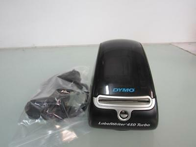 Dymo LabelWriter 450 Turbo Label Thermal Printer W/USB and Charger