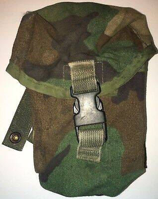 Us Gi Gregory Spear Safariland Woodland M-60/saw 100 Rd Pouch Used (13_33)