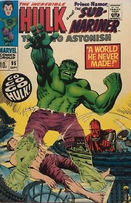 Tales To Astonish # 95 1967