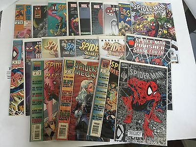 Misc. Spider-Man comic books Lot 6--Spider-Man #1;Misc. Mini-Series;etc.