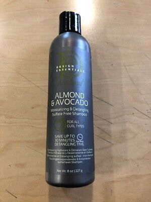 Design Essentials Almond Avocado Moisturizingdetangling