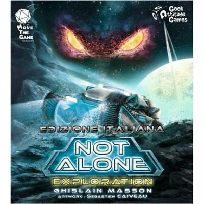 MOVE THE GAME - NOT ALONE EXPLORATION - ESPANSIONE Gioco da Tavolo Italiano