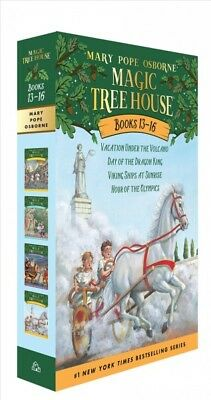 Magic Tree House Books 13-16: the Mystery of the Lost Libraries : Vacation Un...